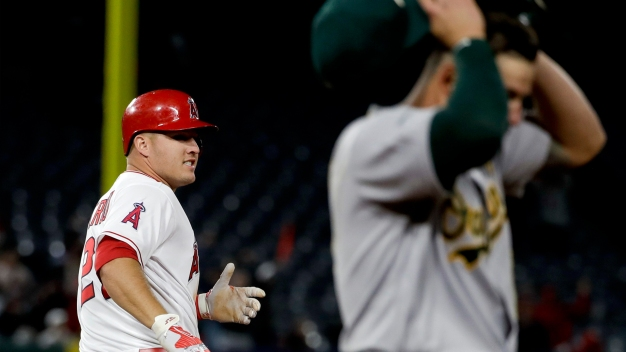 A's Casilla Blows Save in 10th, Angels Walk Off in 11th