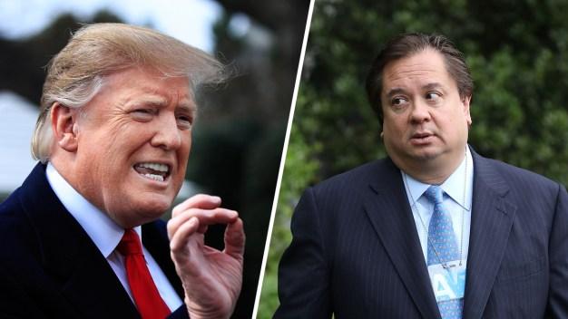 Trump Escalates Feud With Kellyanne Conway's Husband