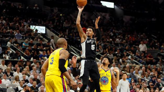 Depleted Warriors Put Up Fight But Fall to Spurs