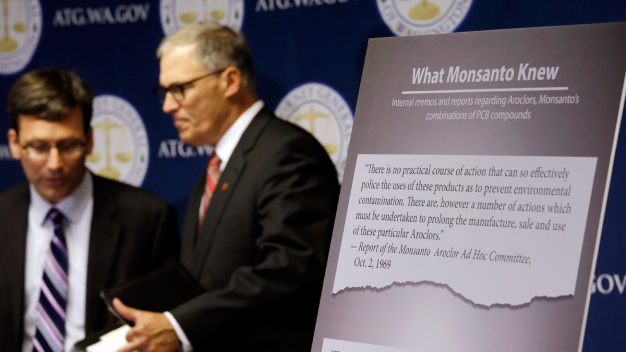 Washington is First State to Sue Monsanto Over PCB Pollution