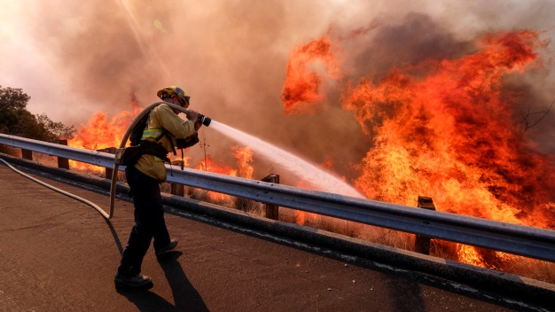 California National Guard to Leave Border, Help Stop Fires