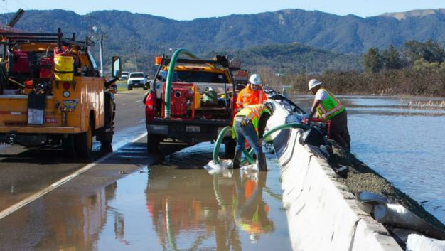 Westbound Lanes of State Route 37 Reopen After Flooding