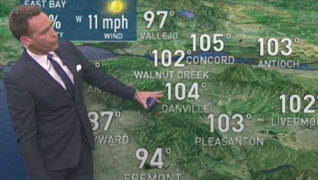 Jeff's Forecast: Hot 100s & Fire Danger