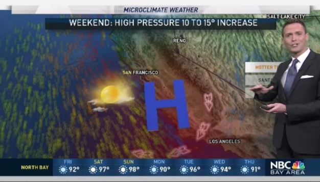 Jeff's Forecast: Mild to Hot Weekend