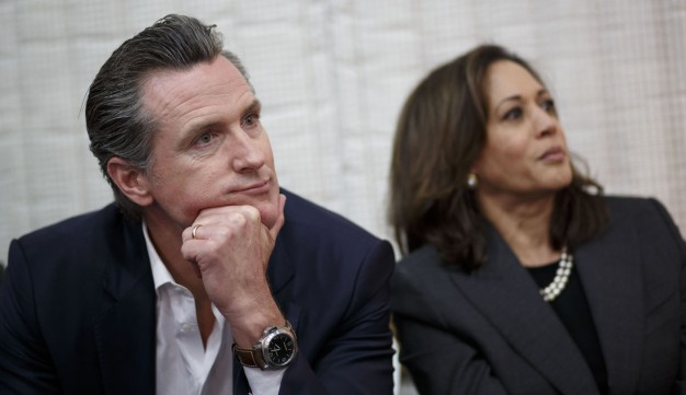 Gov. Gavin Newsom Endorses Sen. Kamala Harris for President