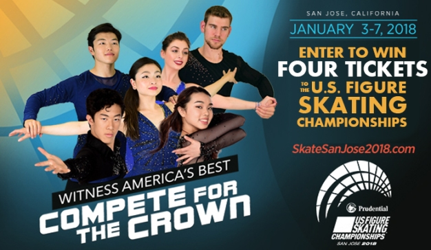 Enter to win 4 tickets to the US Figure Skating Championships!