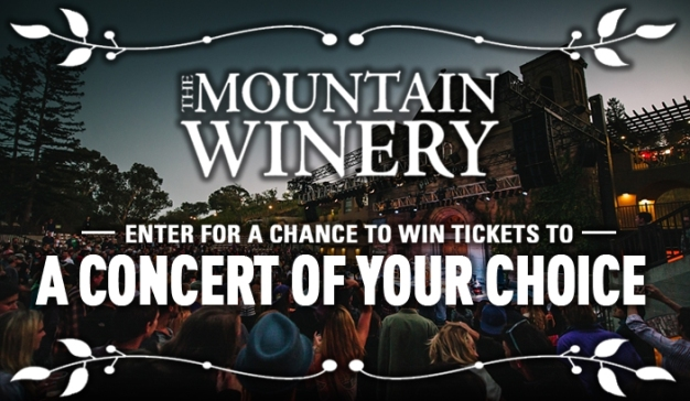 2018 Mountain Winery Summer Concert Series Sweepstakes!