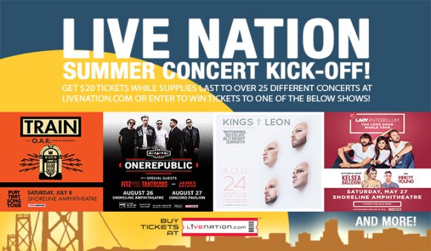 Live Nation Summer Concert Kick-Off