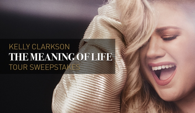 Kelly Clarkson The Meaning of Life Tour Sweepstakes