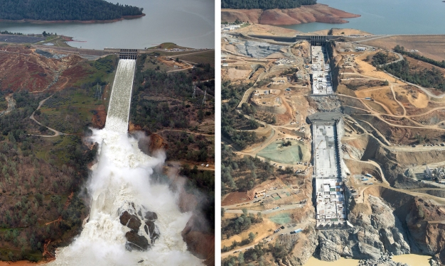 Oroville Dam Repair Costs to Top $500 Million