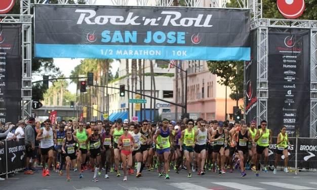 The San Jose Rock 'n' Roll Half Marathon