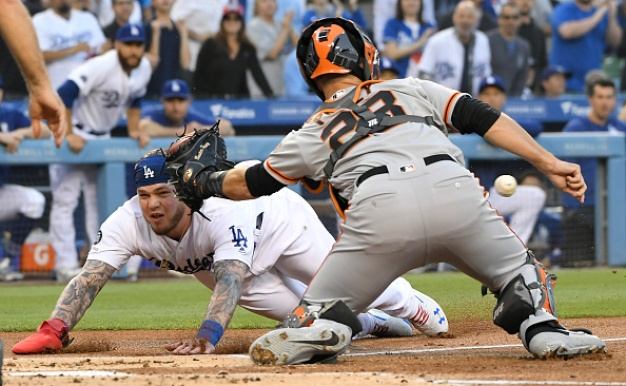 Giants Stymied by Kershaw, Dodgers in Shutout Loss