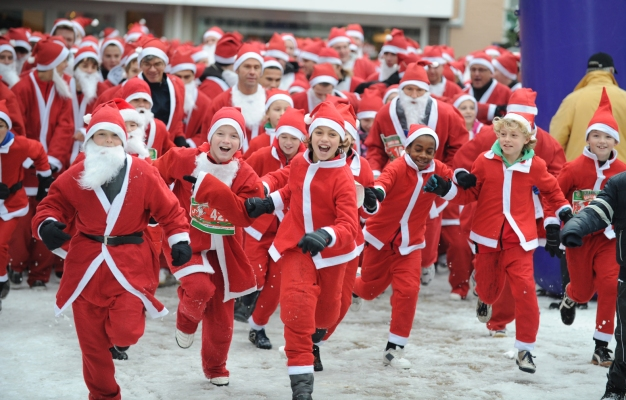 Get in the Holiday Spirit with TiVo Santa Run Silicon Valley