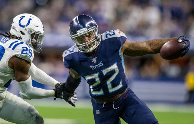 Derrick Henry Will Be Titanic Test for Raiders