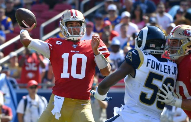 Niners' Success Driven by Executing, Defending Passing Game