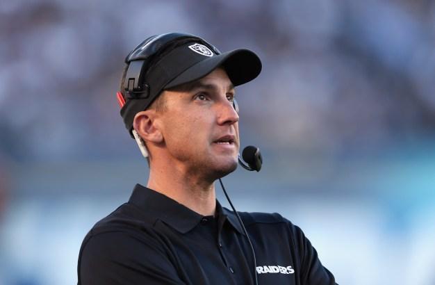 Raiders Fire Head Coach Dennis Allen