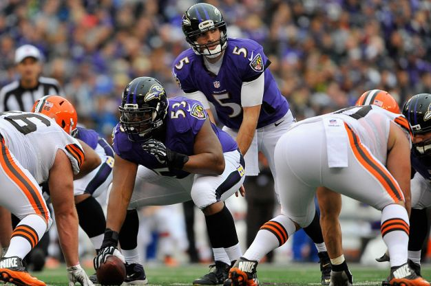 Niners Trade for Ravens' Starting Center