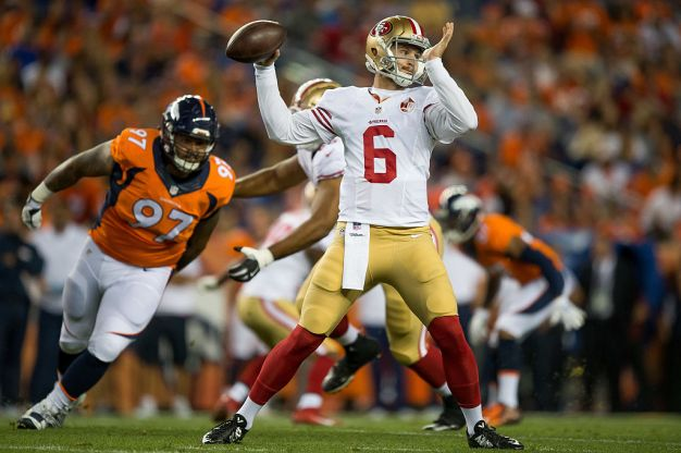 It's a Good Night for 49ers Quarterbacks