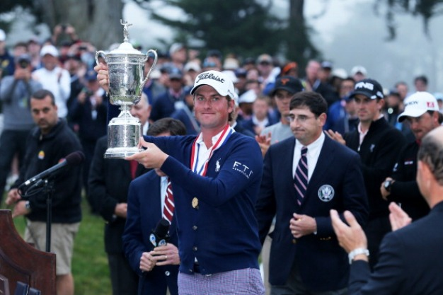 Simpson Wins U.S. Open