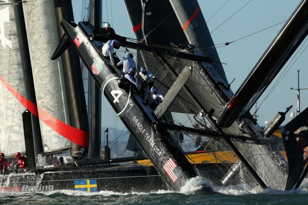 America's Cup Finale Follows Dramatic Capsize