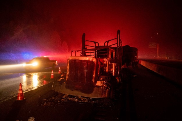 Interstate 5 Reopens; Delta Fire Continues to Burn