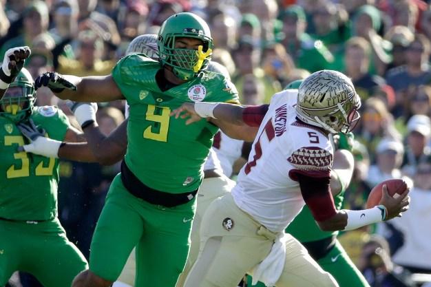 Oregon Defensive Lineman Armstead Could be 49ers' Draft Target
