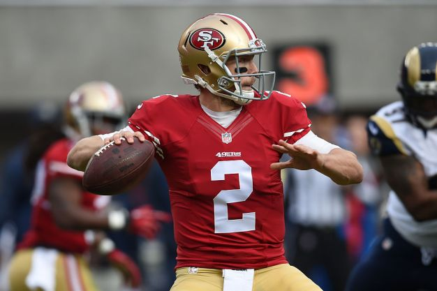 Niners' Kaepernick Has Uphill Battle to Unseat Gabbert