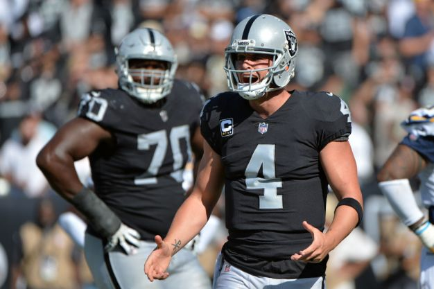 Raiders' Passing Offense is Falling Short