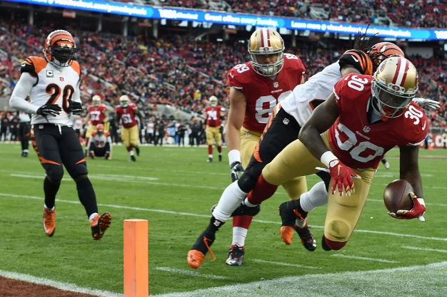 Gaskins, Back With 49ers, is Eager for Another Opportunity