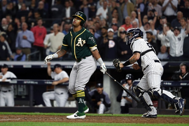 A's Eliminated From Playoffs After Losing to Yankees