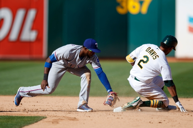 Andrus' Two Homers Powers Rangers Past A's