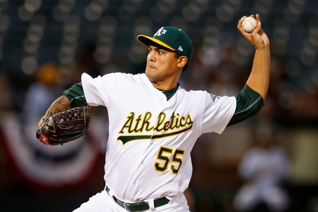 Manaea Earns First Win as A's Top Mariners