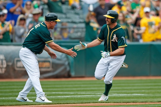 A's Hold Off Mariners for Fifth Straight Win