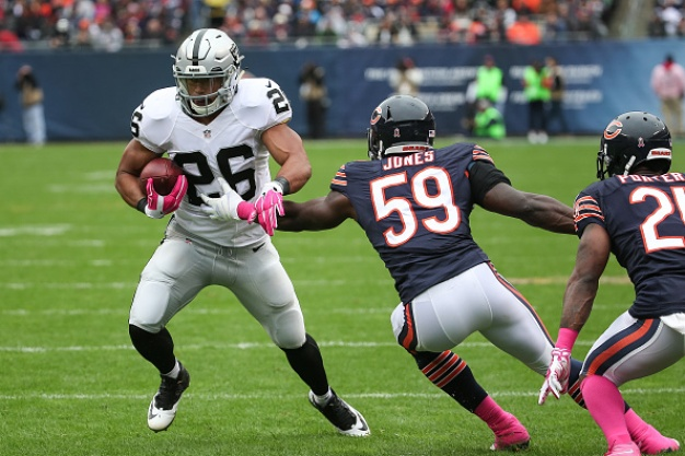 Raiders' Defense Can't Hold in 22-20 Loss to Bears