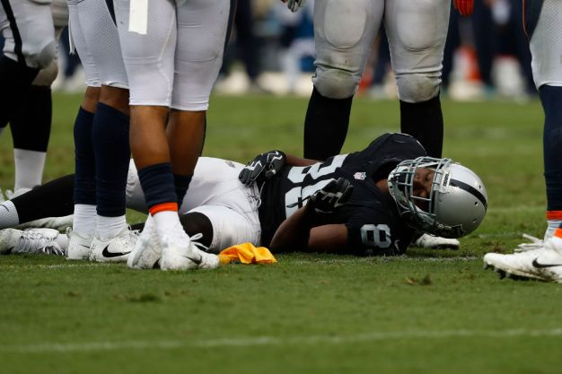 Raiders' Cooper Having Worst Season of Three-Year Career