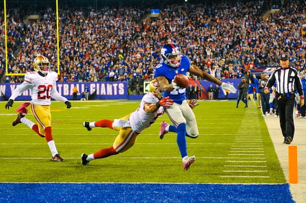 Late Giants Drive Crushes 49ers' Hopes