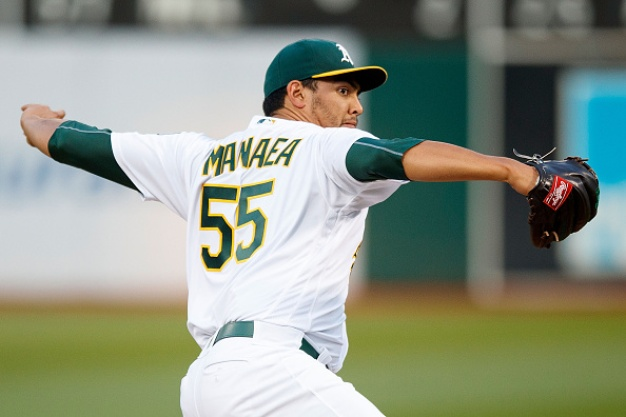 Manaea Locked in as A's Slug Away to Beat Indians