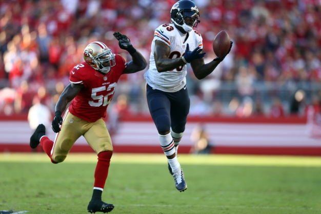 49ers Overcome by Bears, Drop Levi's Opener