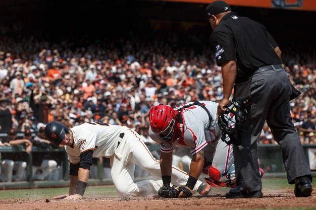 Giants Officially Out of NL West Race With Loss to Phillies