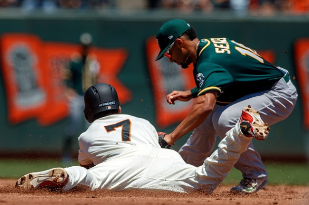 Bay Bridge Series: A's Are Hot, Giants Not at All-Star Break