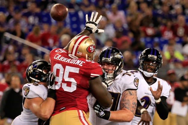 Niners Expect Fierce Competition to Replace Smith, McDonald