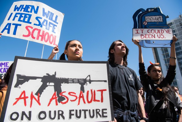 PHOTOS: SJ Students Leave Class on #NationalSchoolWalkout