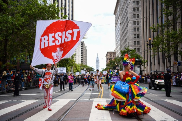 San Francisco Celebrates Pride With Annual Parade