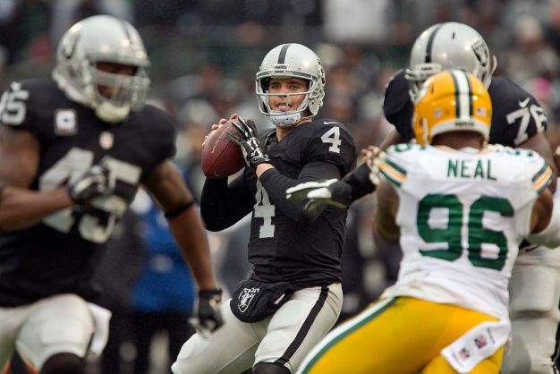 Raiders' Carr and Musgrave are on the Same Page