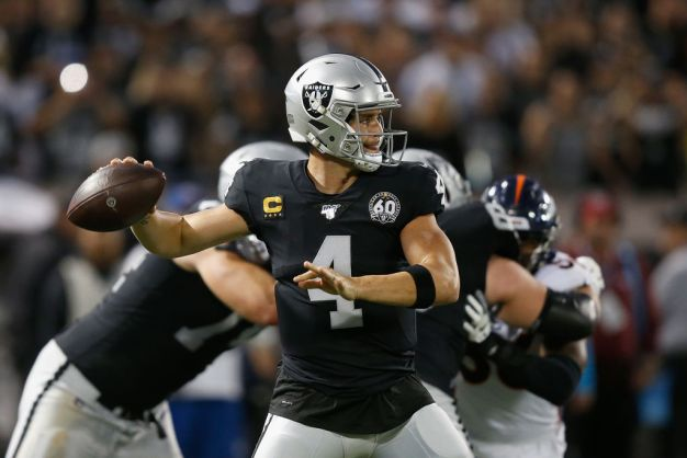 Raiders' Derek Carr Says He's a 'Man on a Mission'