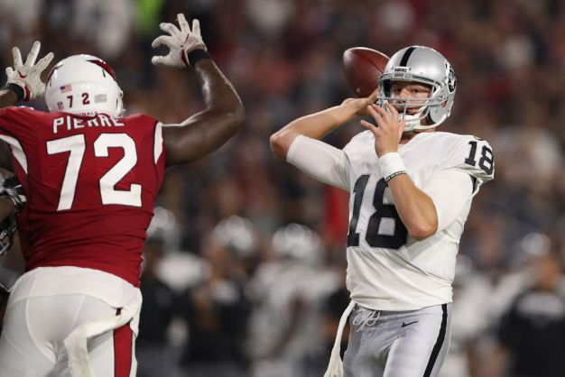 Connor Cook Likely to Get Long Look vs. Lions