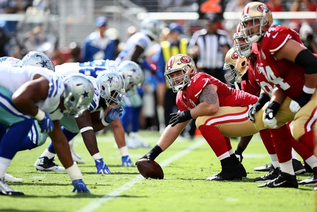 Veteran Center Kilgore Wants to Stay With 49ers
