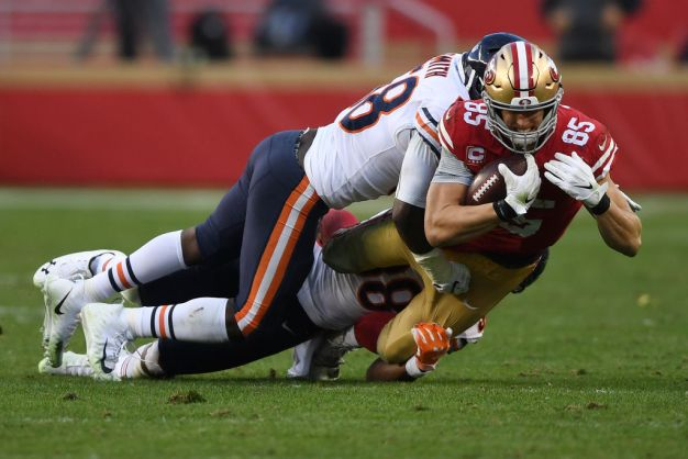 49ers' Kittle Working to Improve After Breakout Season