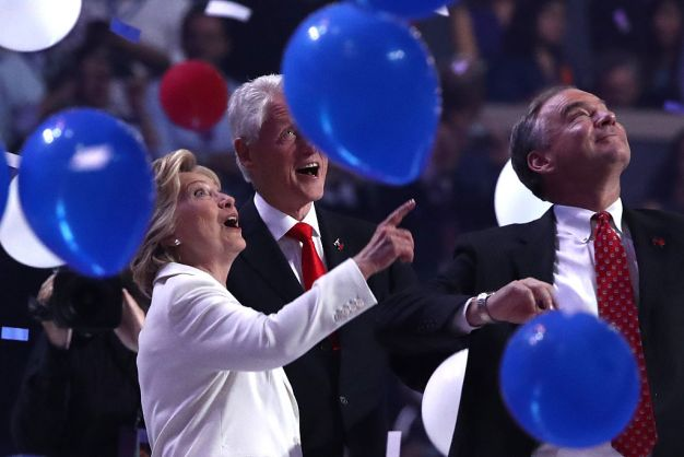 The Clintons and Their Balloons: A Love Story