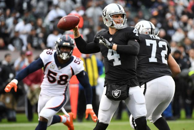 Carr is Ready to 'Let it Rip' Against Cowboys